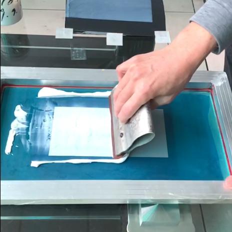 丝印胶水印刷测试
