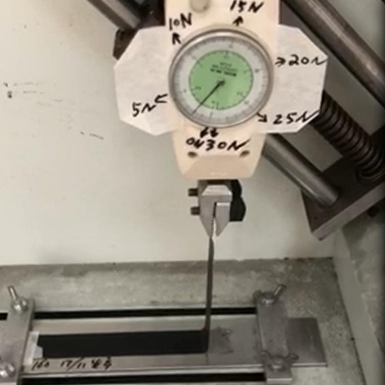 丝印胶水拉力测试